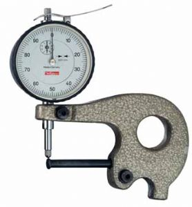 KÄFER Dial Tube Wall Thickness Gauge J 50 W - Reading: 0.01 mm